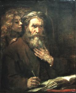 De evangelist Mattheus en de engel