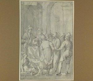 Christus voor Pilatus (Mattheüs 27:11-14)