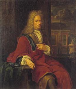 Portret van Juliaan van Groenewegen (1671-1739)