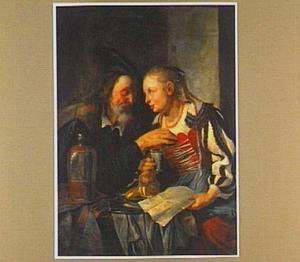 Het ongelijke paar: oude man en jonge vrouw