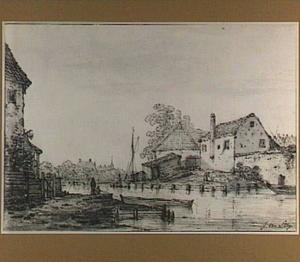 Huizen aan een kanaal