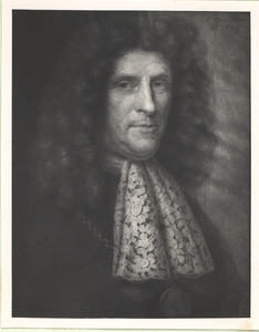 Portret van Hans Hartwyck (1630-1692)