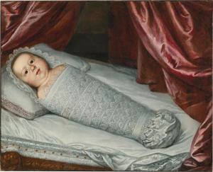 Portret van Cosimo III de'Medici als bakerkind
