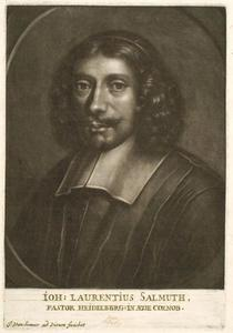 Portret van de Heidelberger predikant Johannes Laurentius Salmuth