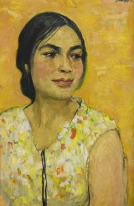Portret van Anda Kerkhoven (1919-1945)