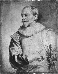 Portret van Sebastiaan Vrancx (1573-1647)
