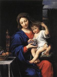 De Madonna met de druiventros