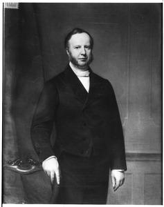 Portret van Willem van Heeckeren van Kell (1815-1914)