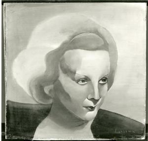 Portret van Marlene Dietrich