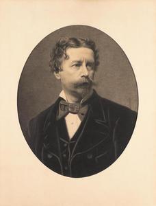 Portret van Abraham Willet (1825-1888)