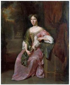 Portret van Alida van Middelhoek (1658-1742)