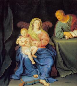 De Heilige Familie thuis