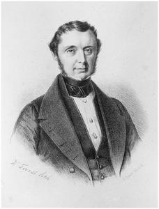 Portret van Jhr. Daniel de Blocq van Haersma de With (1797-1857)