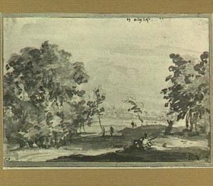 Wassenaar, landschap bij de Oude Deyl