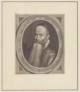 Portret van Eduardus Poppius  (....-1624)