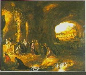 De opwekking van Lazarus (Joh.12:22)
