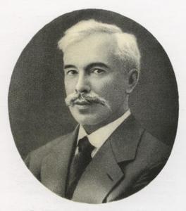 Portretfoto van Sergei Ivanovich Shchukin (1857-1912)
