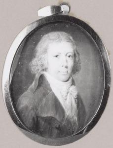 Portret van David Joan van der Burch (1769-1800)