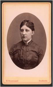 Portret van Elisabeth van Brakel (1859-1921)