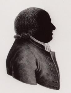Portret van Maas Jansen van den Hull ( 1713-1802)