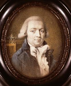 Portret van Adrianus Wilhelmus Kroesen ( -1824)