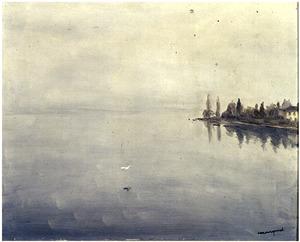 Brouillard sur Lac Leman