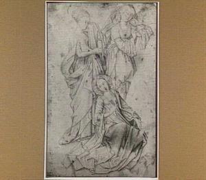 De drie Maria's uit een bewening van Christus (Marcus 15:41)