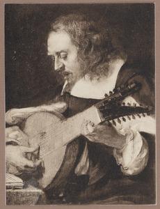 'Het gehoor': portret van een man, mogelijk Jan Philips van Thielen (1618-1667)