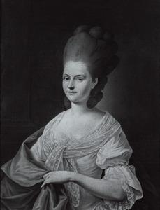Portret van Anna Cornelia Mollerus (1749-1821)