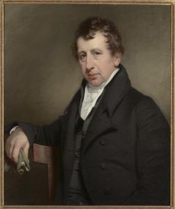 Portret van een man, waarschijnlijk Franc Diederik Cau (1783-1861)