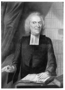 Portret van Nicolaus Holtius (1693-1773)