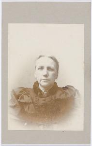 Portret van Sara Valckenier (1838-1904)