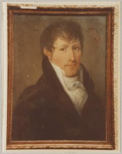 Portret van Friedrich Johan Willem Abrahams (1783-1821)