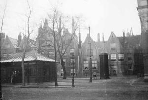 Gezicht op het Spui te Amsterdam