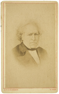 Portret van Abraham Capadose (1795-1874)