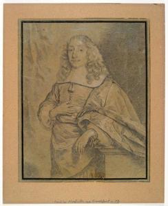 Portret van David de Neufville (1623-1684)