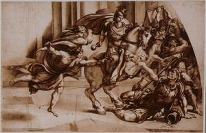 De verdrijving van Heliodorus uit de tempel (2 Makkabeeën  3:7-35)
