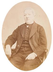Portret van Hendrik Phillip Christoffel Stoffels (1802/1803-1876)