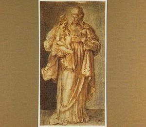 Heilige Anna met Maria en het Christuskind