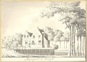 Huis Lagenpoel of Leegpoel bij Rumpt