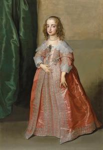Portret van Maria Stuart (1631-1661), Princess Royal en Prinses van Oranje