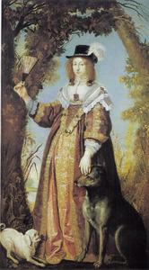 Portret van Leonora Christina (1621-1698), dochter van Christiaan IV en Kirsten Munk