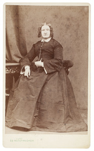 Portret van Ida Wijnkes (1822-1897)
