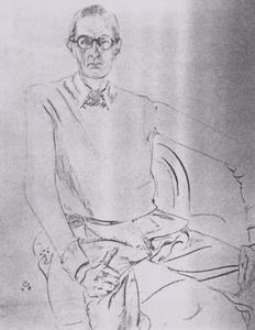 Portret van Valentinus Edgardus Van Uytvanck (1896-1950)