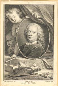 Portret van Jacob de Wit (1695-1754)