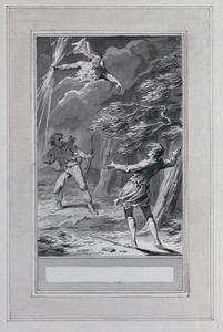 Illustratie bij 'De reiziger' uit de Fabelen en vertelsels van F.C. Gellert