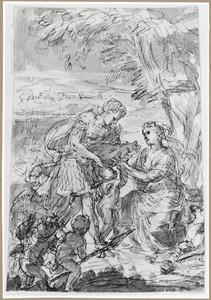 Meleager schenkt Atalanta de kop van het everzwijn
