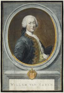 Portret van Willem van Haren (1710-1768)
