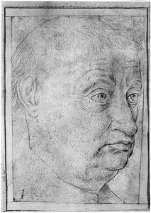 Portret van een man, mogelijk een geestelijke