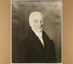 Portret van Willem de Visser, Bommels stadstekenmeester (1801-1875)